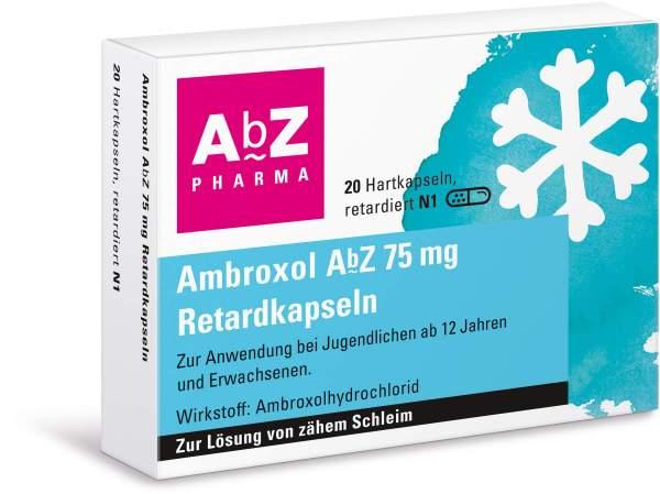 Ambroxol Abz 75 mg 20 Retardkapseln