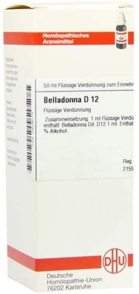 Belladonna D12 50 ml Dilution