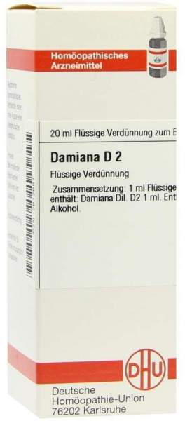 Damiana D 2 20 ml Dilution