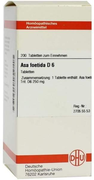 Asa Foetida D6 Tabletten 200 Tabletten