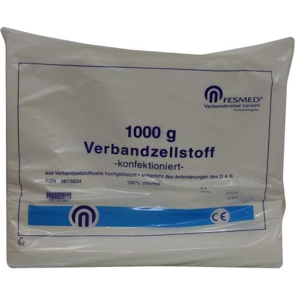 Verbandzellstoff Konfektioniert hochgebleicht 1000 g Beutel