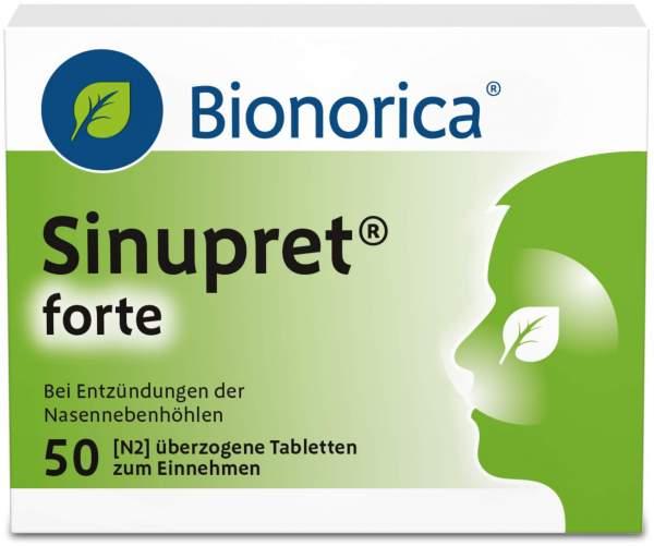 Sinupret forte 50 Überzogene Tabletten