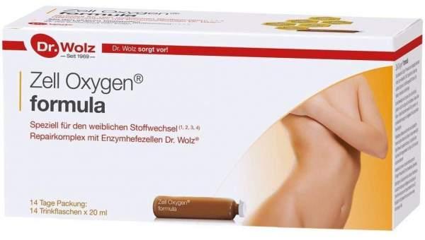 Zell Oxygen Formula Trinkampullen