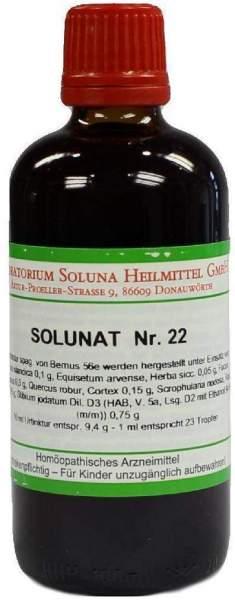 Solunat Nr.22 100 ml Tropfen