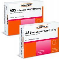 ASS-ratiopharm protect 100mg 2x100 magensaftresistente Tabletten