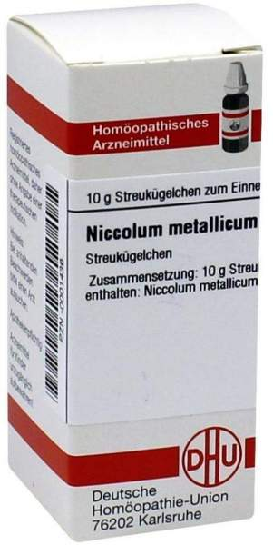Dhu Niccolum Metallicum D12 Globuli