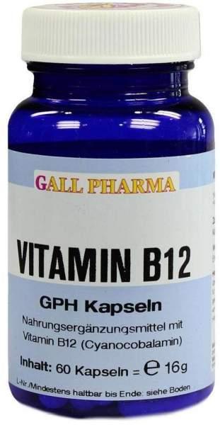 Vitamin B12 3 µg Gph 60 Kapseln