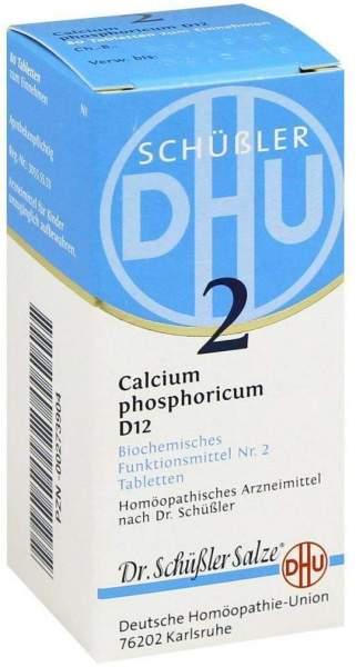 Biochemie Dhu 2 Calcium Phosphoricum D12 Tabletten 80 Tabletten
