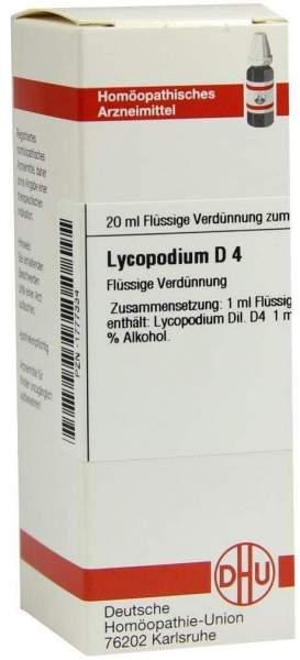 Lycopodium D4 Dhu 20 ml Dilution