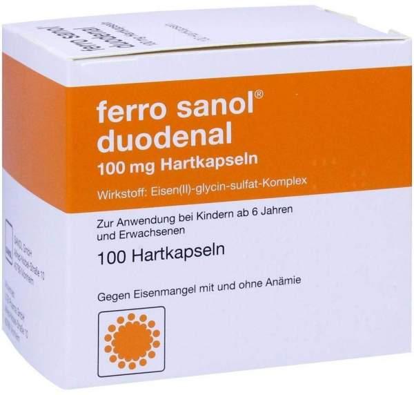 Ferro Sanol Duodenal 100 Hartkps. mit magensaftres. überzogenen Pellets
