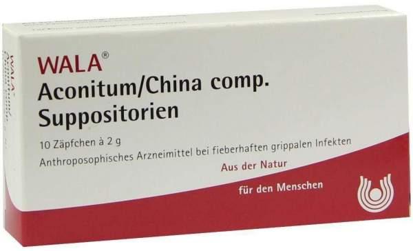 Aconitum-China Comp. Suppositorien