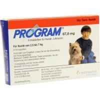 Program 67,8 mg 2,5 - 7 Kg 6 Tabletten für Hunde