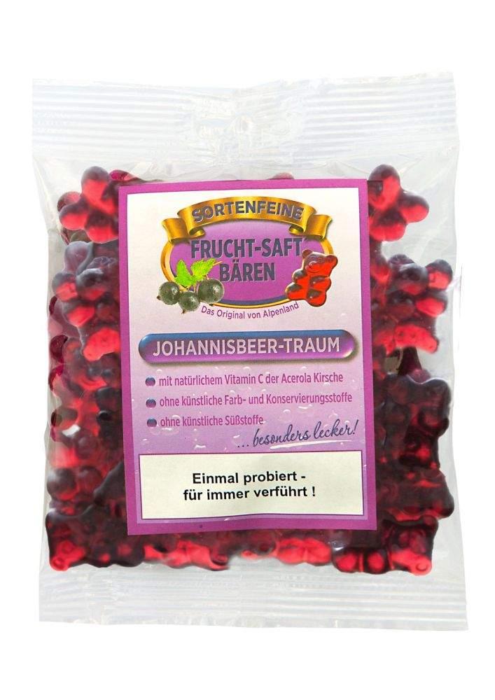 Johannisbeer-Traum Fruchtsaftbären