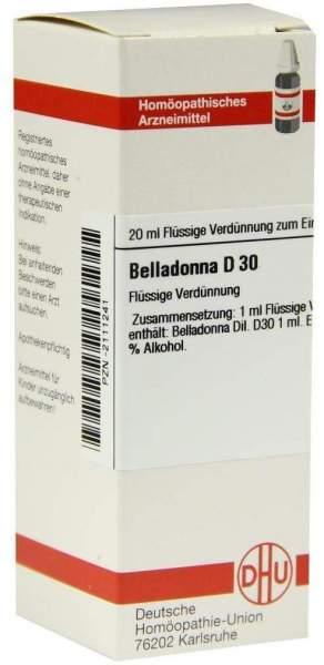 Dhu Belladonna D30 Dilution