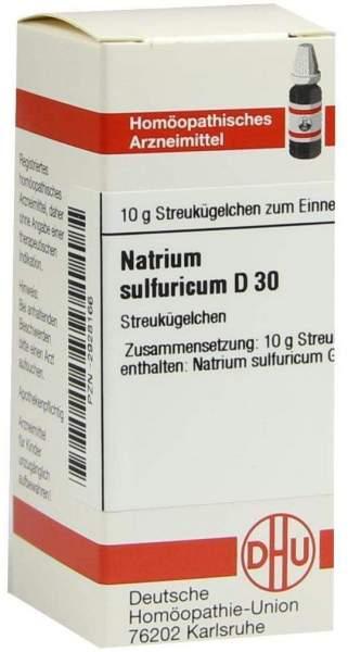 Natrium Sulfuricum D 30 Globuli