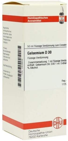 Gelsemium D30 50 ml Dilution
