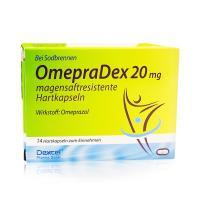 Omepradex 20 mg Magensaftresistente Hart