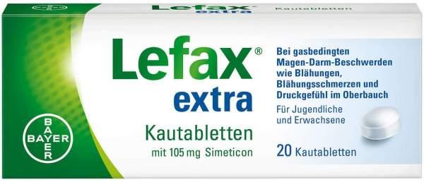 Lefax Extra 20 Kautabletten