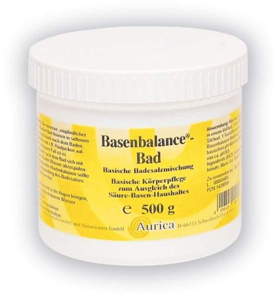 Basenbalance Bad 500 G Salz