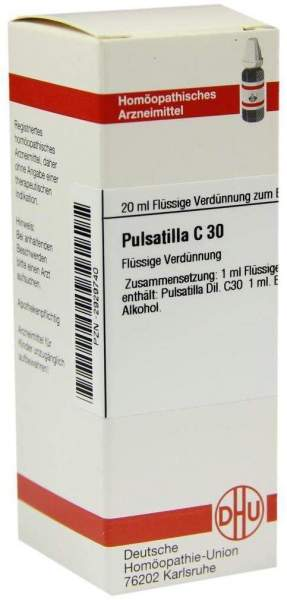Pulsatilla C 30 20 ml Dilution