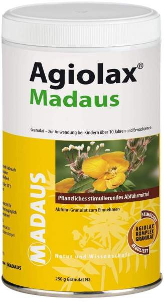 Agiolax Madaus Granulat 250 g