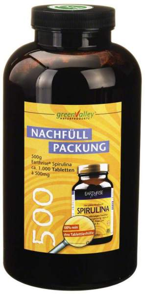 Spirulina Earthrise Nachfüllpackung Tabletten