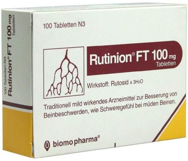 Rutinion Ft 100 mg Tabletten 100 Tabletten