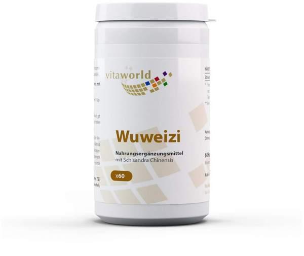 Wuweizi Schisandra 500 mg 60 Kapseln