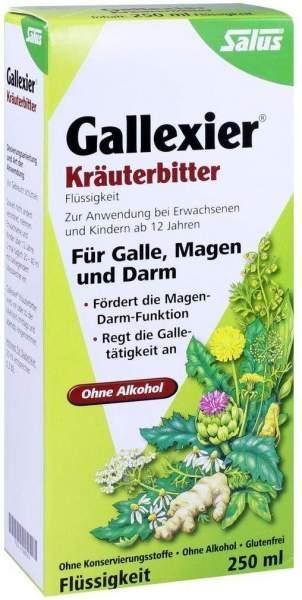 Gallexier Kräuterbitter Salus 250 ml Flüssigkeit
