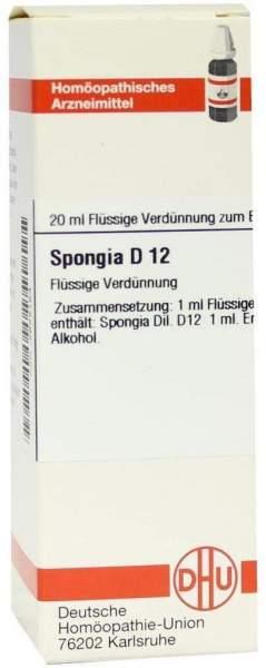 Spongia D12 Dilution 20 ml Dilution