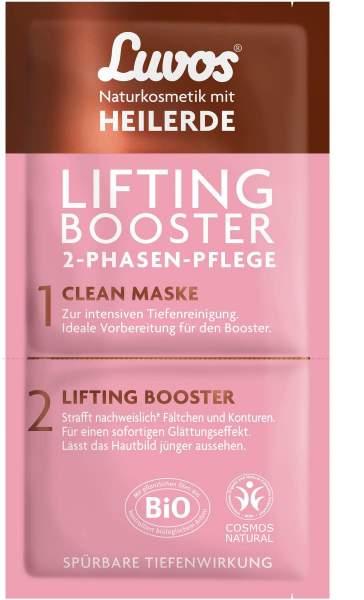 Luvos Heilerde Lifting Booster Mit Clean Maske 2 + 7,5 ml