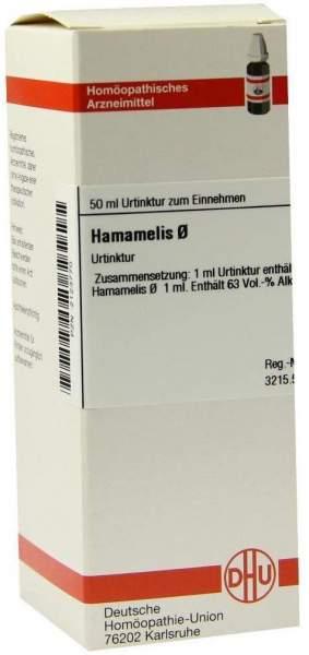 Hamamelis Urtinktur 50 ml Dilution