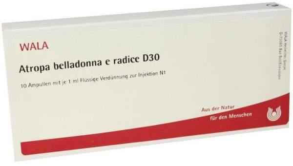 Atropa Belladonna E Radix D 30 Ampullen