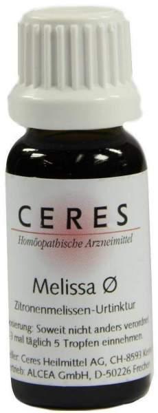 Ceres Melissa Officinalis Urtinktur