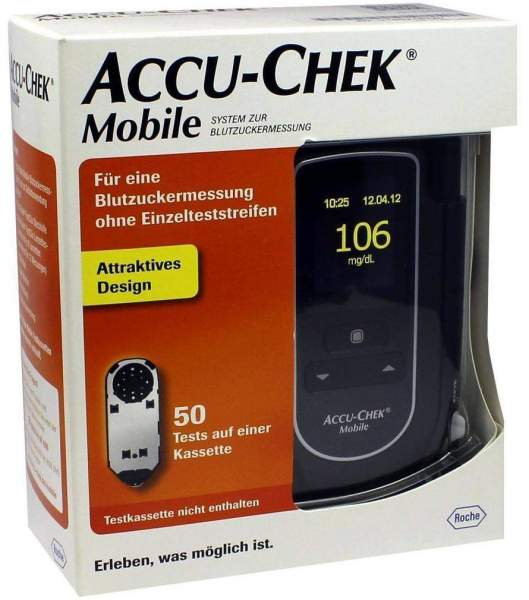 Accu Chek Mobile Set mg Pro Dl 1 Stück