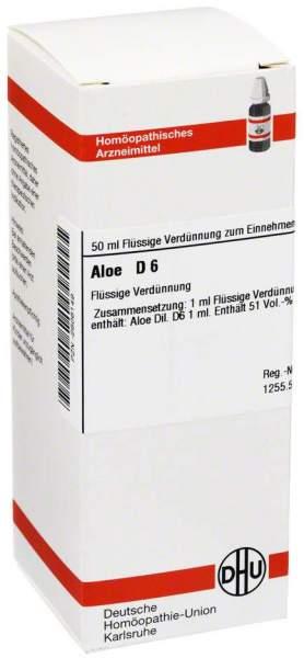 Aloe D 6 Dilution