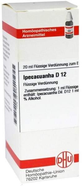 Ipecacuanha D12 Dhu 20 ml Dilution