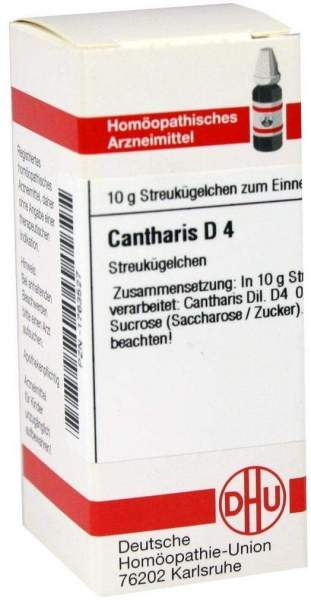Cantharis D4 10 G Globuli