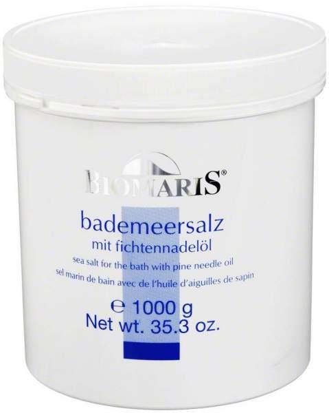 Biomaris Bade Meersalz Mit Fichtennadelöl 1kg