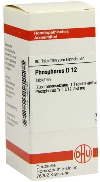 Phosphorus D12 Tabletten 80 Tabletten