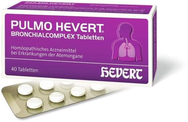 Pulmo Hevert Bronchialcomplex 40 Tabletten