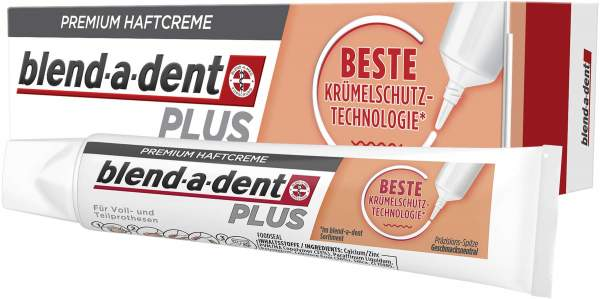 Blend A Dent Plus Beste Krümelschutz Technologie 40 g Haftcreme