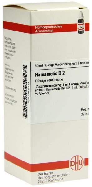 Hamamelis D2 Dhu 50 ml Dilution