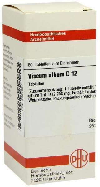 Viscum Album D 12 80 Tabletten