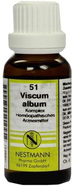 Viscum Album Komplex Nr. 51 20 ml Dilution