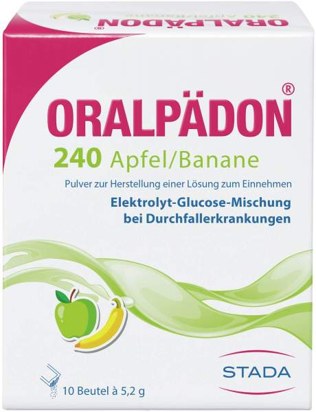 Oralpädon 240 Apfel, Banane 10 Beutel