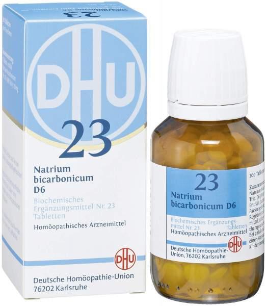 Biochemie DHU 23 Natrium bicarbonicum D6 200 Tabletten