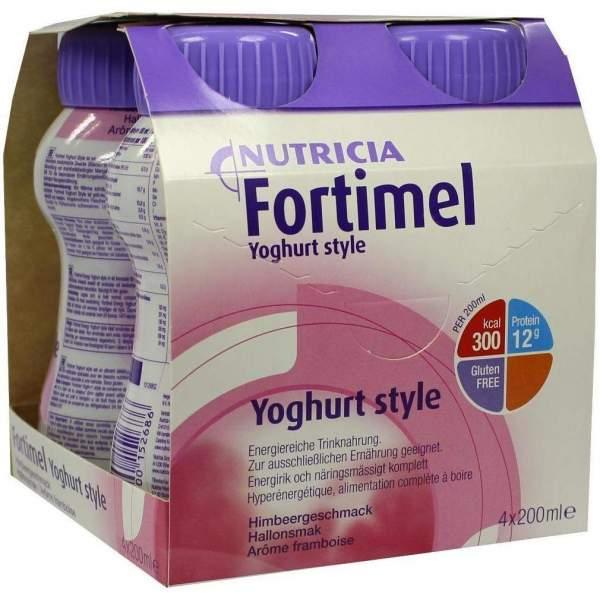 Fortimel Yoghurt Style Himbeergeschmack 4 X 200 ml