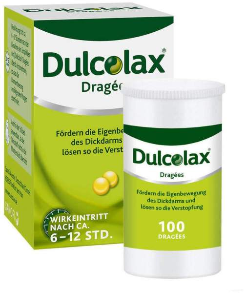 Dulcolax 100 Dragees Dose