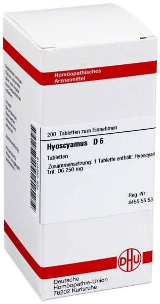 Hyoscyamus D 6 200 Tabletten